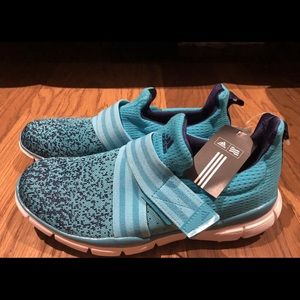 Adidas Womens Climacool Knit Golf Shoes Cleats Blu
